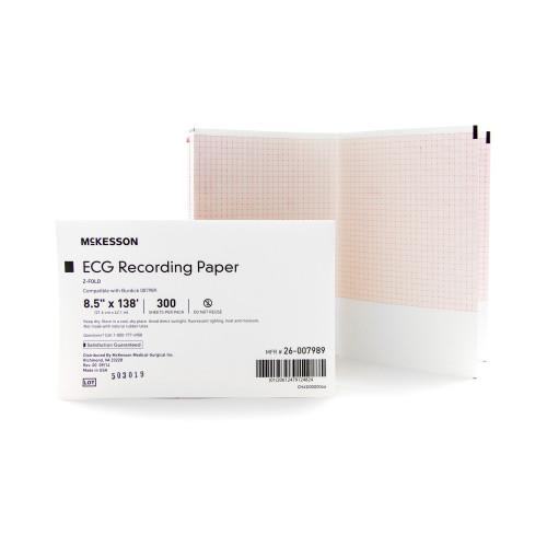 McKesson Diagnostic Recording Paper McKesson Brand 26-007989