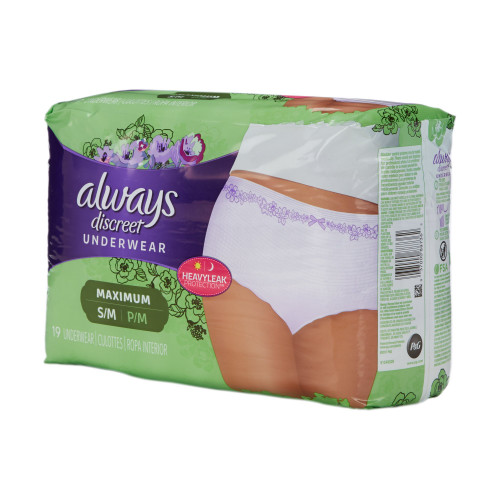 Always Discreet Absorbent Underwear The Palm Tree Group 3700088761
