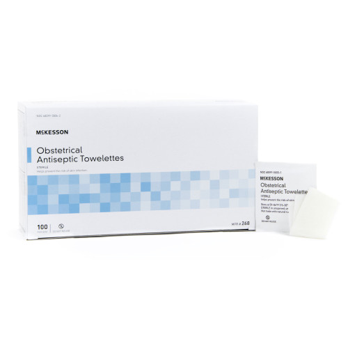 McKesson Obstetrical Wipe McKesson Brand 268