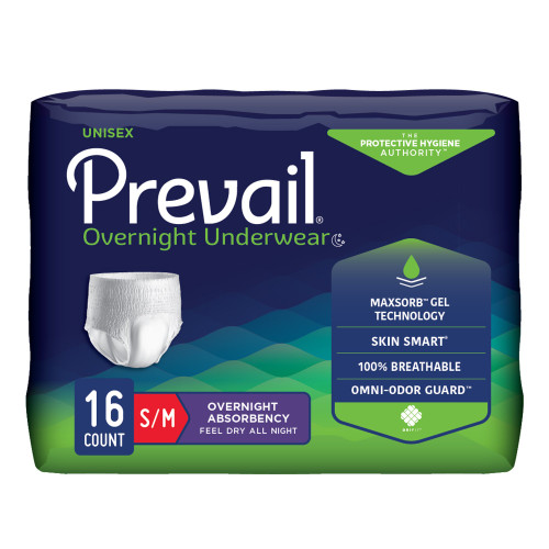 Prevail Absorbent Underwear First Quality PVX-512