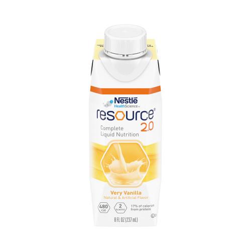 Resource 2.0 Oral Supplement Nestle Healthcare Nutrition 00043900151670