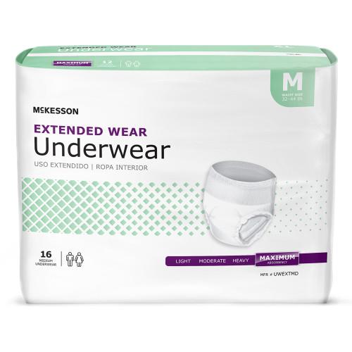McKesson Extended Wear Absorbent Underwear McKesson Brand UWEXT