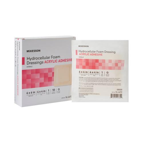 McKesson Foam Dressing McKesson Brand