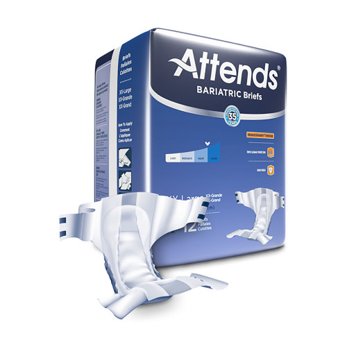 Attends Advanced Incontinence Brief Attends Healthcare Products DD50
