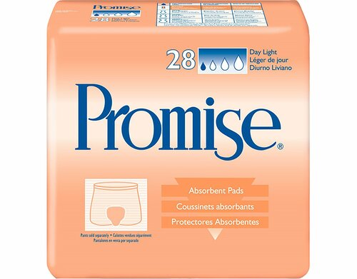 TENA Promise Day Light Incontinence Liner Essity HMS North America Inc 62550