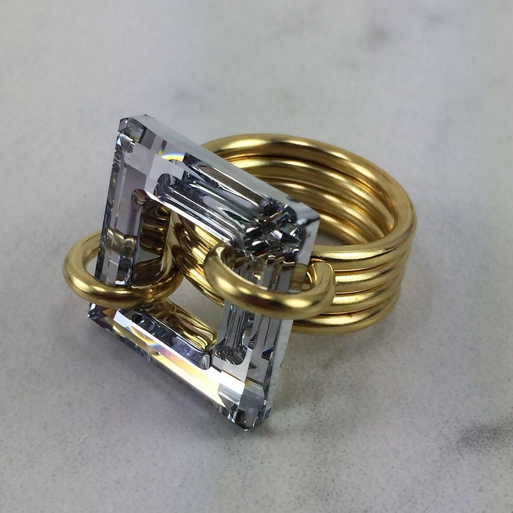Medium Coco Ring