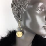 Stiletto Franc Coin Earrings