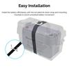 Renogy 12V 100Ah Deep Cycle AGM Battery with Battery Box