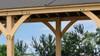 Yardistry Meridian Gazebo with Cedar Wood & Aluminum Roof (12 ft. x 20 ft.)