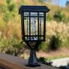 Gama Sonic Prairie Bulb Solar Lamp GS-114B-FPW