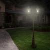 Gama Sonic Royal Bulb Double Solar Lamp with GS Solar LED Light Bulb GS-98B-D