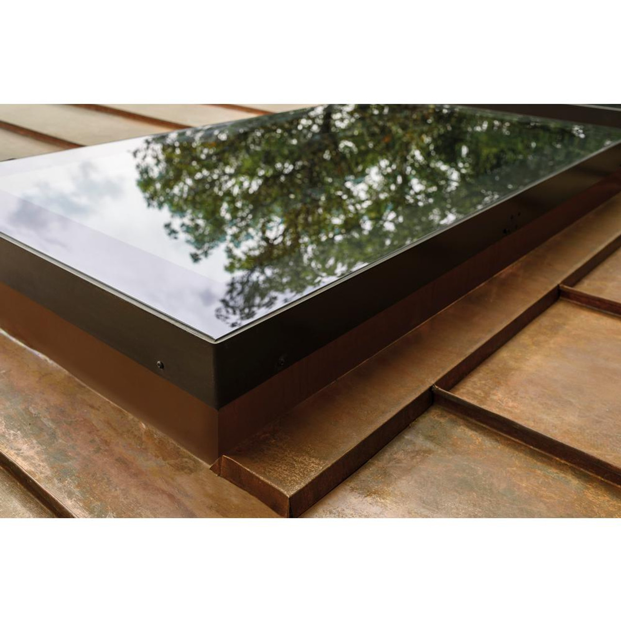 Fakro Fxc 30 12 In X 30 12 In Fixed Curb Mounted Skylight With Laminated Lowe366 Glass