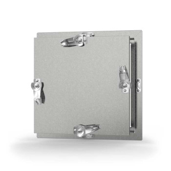 Acudor 10x10 CD-5080-HP Galvanized Steel Insulated Duct Door for High Pressure Duct - NO HINGE