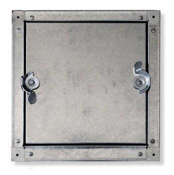 Acudor 6x6 CDSS-6030 Galvanized Steel Self-Stick Duct Door For Sheet Metal Duct NO HINGE