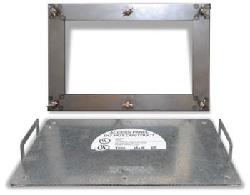 Acudor 20x20 Steel GDD Galvanized Steel Grease Duct Access Door