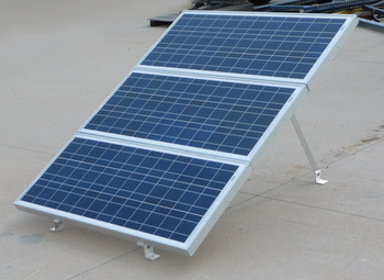 Ameresco 3X-GM, Solar Panel Ground Mount
