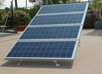 Ameresco 4X-GM, Solar Panel Ground Mount