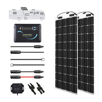 Renogy 200 WATT 12 VOLT FLEXIBLE SOLAR RV KIT