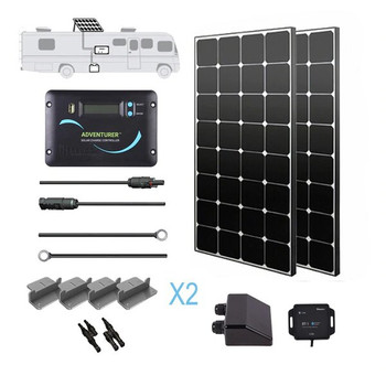Renogy 200 WATT 12 VOLT SOLAR RV KIT