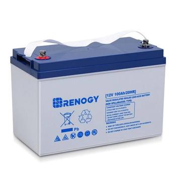 Renogy Deep Cycle Hybrid Gel Battery 12 Volt 100AH