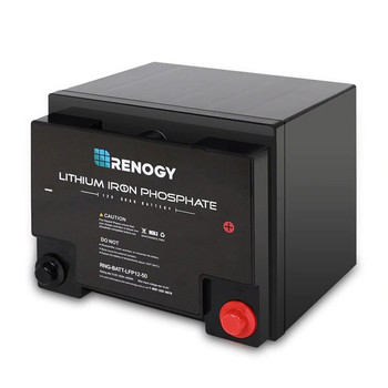 Renogy Lithium-Iron Phosphate Battery 12 Volt 50 AH
