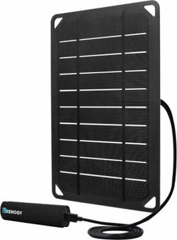 Renogy E.FLEX5 MONOCRYSTALLINE PORTABLE SOLAR PANEL WITH 2500 MAH POWER BANK