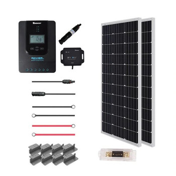Renogy New 200 Watt 12 Volt Solar Premium Kit