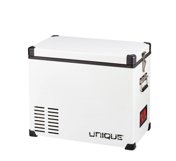 Unique 2.3 cu/ft Portable AC/DC Powered Freezer/Fridge – 65 L W