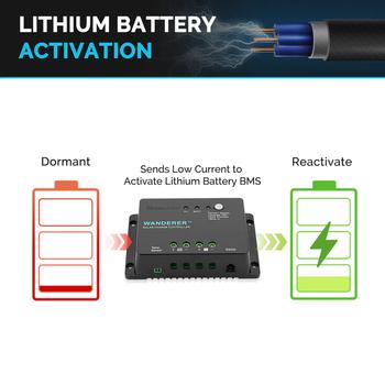 Renogy Wanderer Li 30A PWM Charge Controller Bluetooth Module
