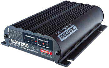REDARC BCDC1225D Dual Input 25A In-Vehicle DC-DC Battery Charger