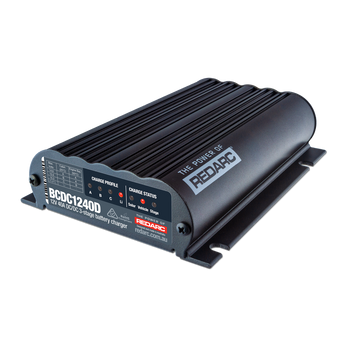 REDARC BCDC1240D Dual Input 40A In-Vehicle DC-DC Battery Charger