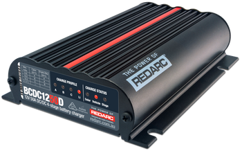 REDARC BCDC1250D Dual Input 50A In-Vehicle DC-DC Battery Charger