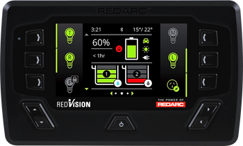 REDARC DISP4300-RC Redvision Display Unit