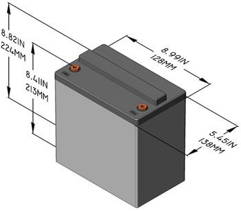 Sun Xtender PVX-490T Solar Battery