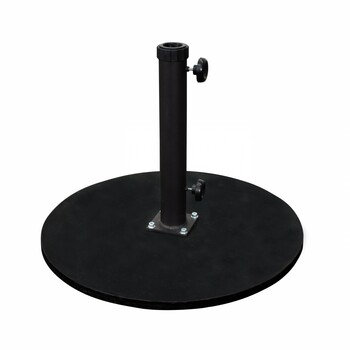 California Umbrella 95LBS Umbrella Base Cast Iron Black - CRLY903-BLACK