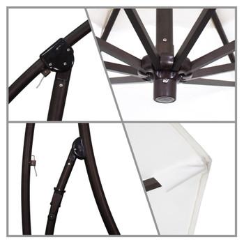 California Umbrella 9' Bayside Series Cantilever - BA908117-SA01