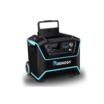 Renogy RNG-ELM-LYCAN200 The Lycan Powerbox Solar Power Generator with Two 100W Suitcases