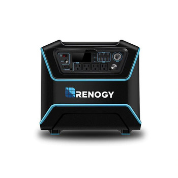 Renogy RNG-ELM-LYCAN300 The Lycan Powerbox Solar Power Generator with Three 100W Suitcases