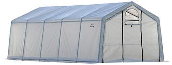 ShelterLogic 70590 GrowIT Heavy Duty 12 x 20 ft. Greenhouse  - Translucent