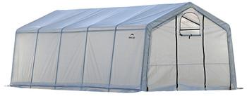 ShelterLogic 70684 GrowIT Greenhouse-in-a-Box Pro Peak 12 x 20 ft. Greenhouse - Translucent