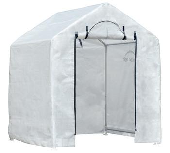 ShelterLogic 70208 GrowIT Backyard Greenhouse 6 x 4 x 6 ft. Translucent - Clear