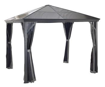 Sojag 310-9160727 Verona Gazebo 10 x 10 ft - Dark grey