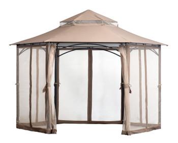 ShelterLogic 24026 Magnolia 11x11 Gazebo - Bronze