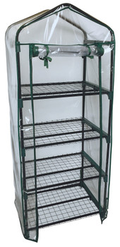 ShelterLogic 70517 GrowIT 4-Tier Mini Growhouse - Clear
