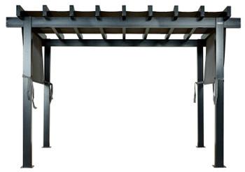 Sojag 500-9166866 Yamba Pergola 10x13 ft. - Light Grey