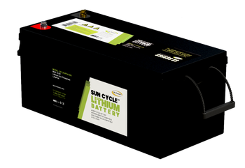 Go Power! GP-LIFEPO4-250 250Ah Lithium Iron Phosphate Solar Battery