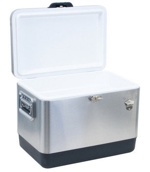 Rio TC54SS-1 54 Quart Stainless Cooler - Steel
