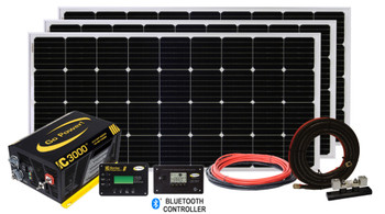 Go Power 82848 - Solar Extreme Charging System 570 watts