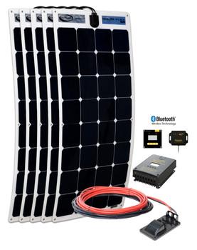Go Power! 500 Watt Flexible Solar Kit