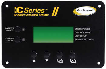 Go Power! Inverter Charger Remote